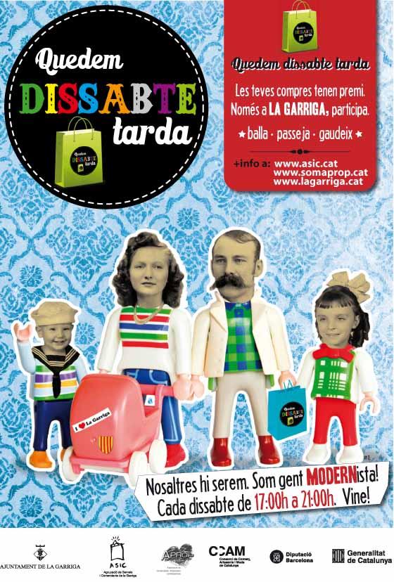 Quedem_dissabtes_tarda_cartel