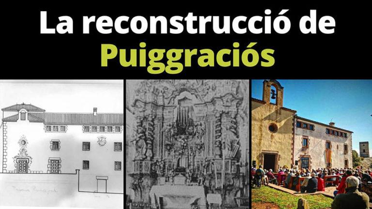 Conferència 'La reconstrucció de Puiggraciós'