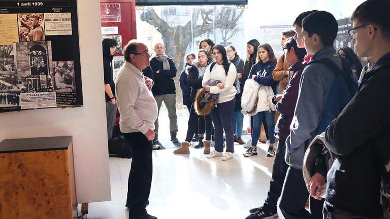 La Retirada dels republicans, en una exposició a la Garriga