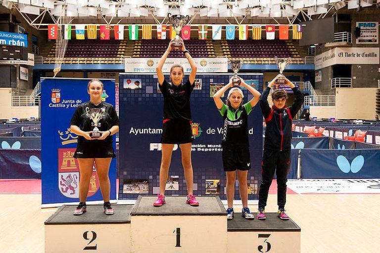 Raquel Larrubia aconsegueix la 3a posició a l'Estatal Infantil