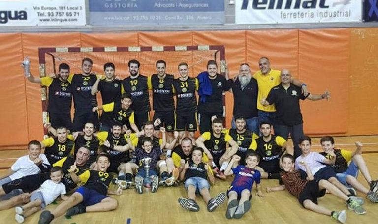 El sènior masculí del Club Handbol La Garriga puja a Primera Catalana