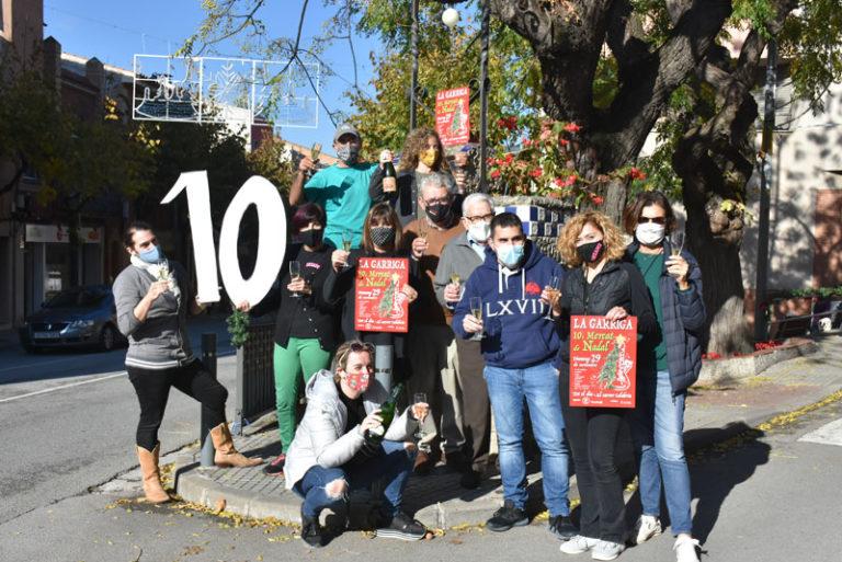 El Barri de Dalt organitzem el10è Mercat de Nadal de la Garriga