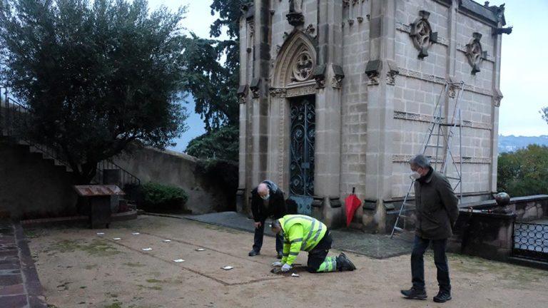 La Garriga converteix l'espai de la fossa de la Doma en Memorial de tots els morts de la guerra