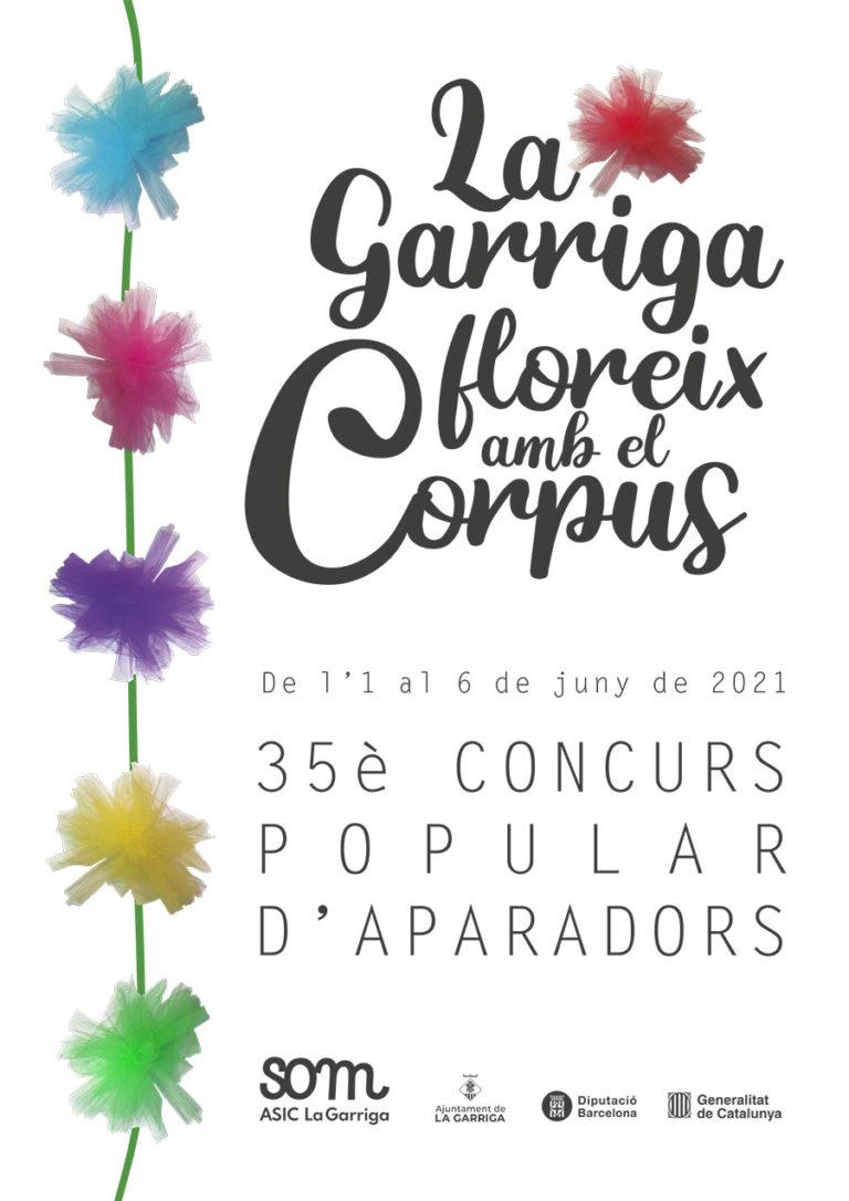 La Garriga floreix amb el Corpus i el 35è concurs popular d'aparadors!